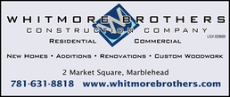Whitmore Brothers Marblehead,MA Contractor